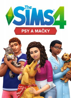 Obal hry The Sims 4: Psy a Mačky