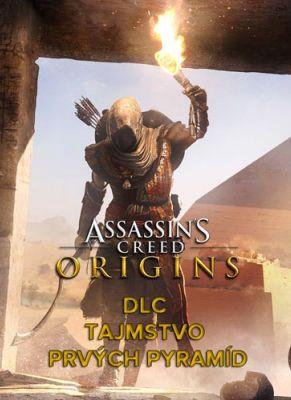 Obal hry AC Origins DLC Tajomstvo prvých pyramíd
