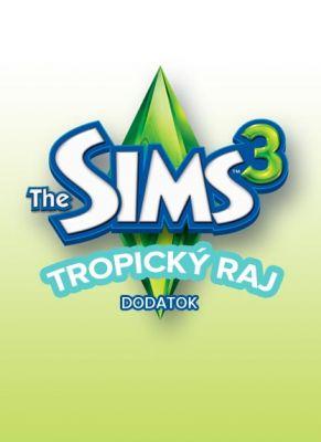 Obal hry The Sims 3 Tropický raj