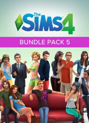 Obal hry The Sims 4 Bundle Pack 5