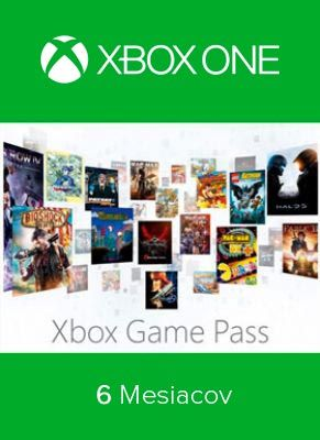 Obal hry Xbox Game Pass 6 Mesiacov