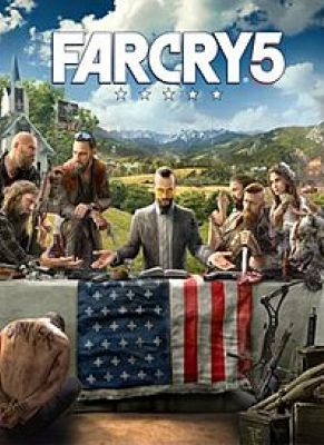 Obal hry Far Cry 5