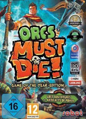 Obal hry Orcs Must Die! GOTY