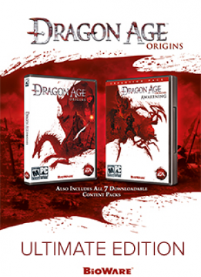 Obal hry Dragon Age: Origins Ultimate Edition