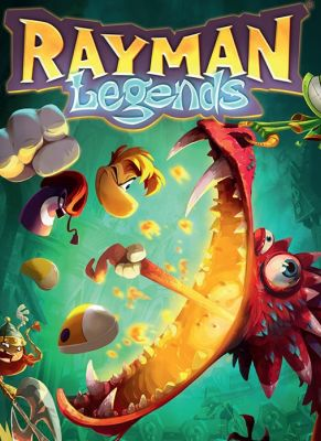 Obal hry Rayman Legends