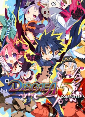 Obal hry Disgaea 5 Complete