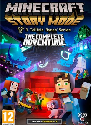 Obal hry Minecraft Story Mode - The Complete Adventure