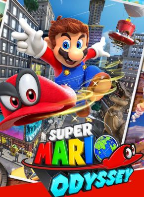 Obal hry Super Mario Odyssey