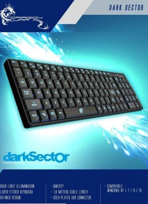 Obal hry Dragon War klávesnica - Dark Sector