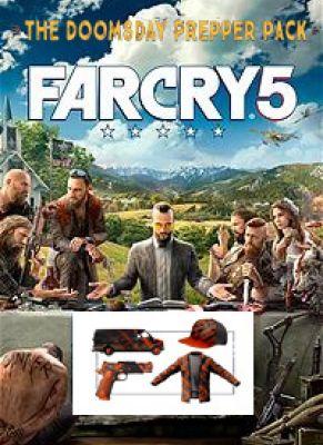 Obal hry Far Cry 5 Doomsday Prepper pack DLC