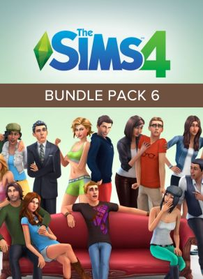 Obal hry The Sims 4 Bundle Pack 6