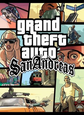 Obal hry Grand Theft Auto San Andreas