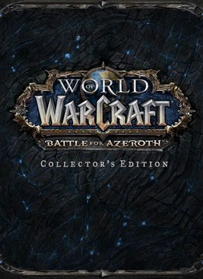 Obal hry World of WarCraft: Battle for Azeroth Collector's