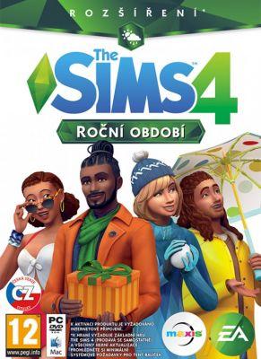 Obal hry The Sims 4: Ročné obdobia