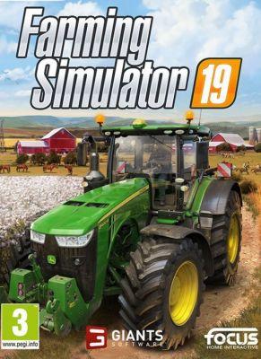 Obal hry Farming Simulator 19