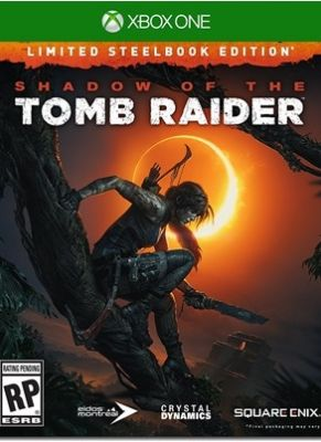 Obal hry Shadow of the Tomb Raider (Steelbook Edition)