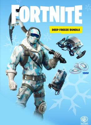Obal hry Fortnite: Deep Freeze Bundle