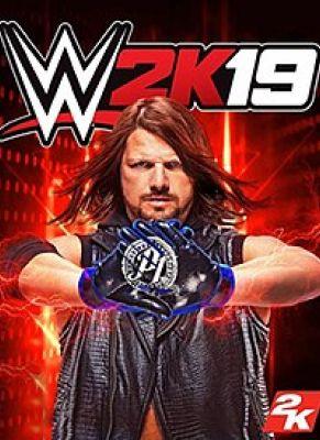 Obal hry WWE K19 Steelbook Edition