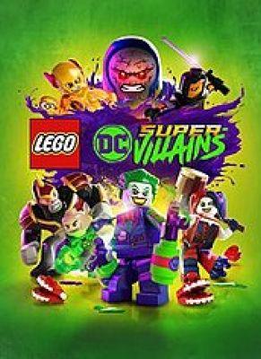Obal hry Lego DC Super-Villains