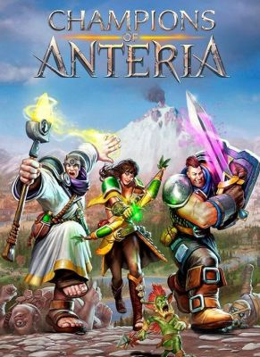 Obal hry Champions of Anteria