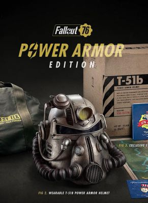 Obal hry Fallout 76 (Power Armor Edition)