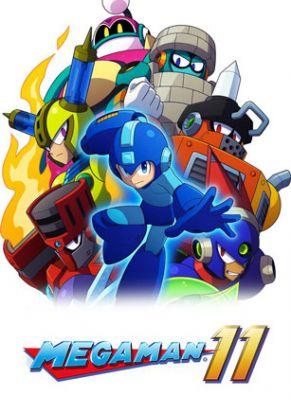 Obal hry Mega Man 11