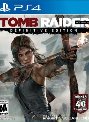 Obal hry Tomb Raider Definitive Edition