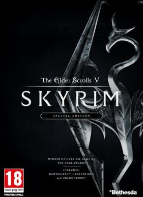 Obal hry The Elder Scrolls 5 Skyrim Special Edition