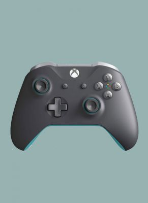 Obal hry Xbox One S Wireless Controller Grey/Blue