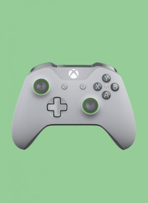 Obal hry Xbox One S Wireless Controller Grey/Green