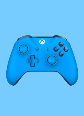 Obal hry Xbox One S Wireless Controller Blue Vortex