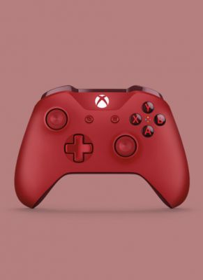 Obal hry Xbox One S Wireless Controller Red