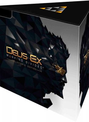 Obal hry Deus Ex: Mankind Divided (Collector's Edition)