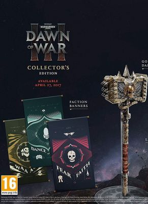 Obal hry WARHAMMER 40 000 DAWN OF WAR 3 Collectors Edition
