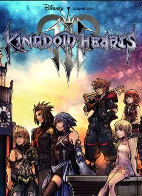 Obal hry Kingdom Hearts 3