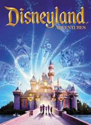 Obal hry Disneyland Adventures