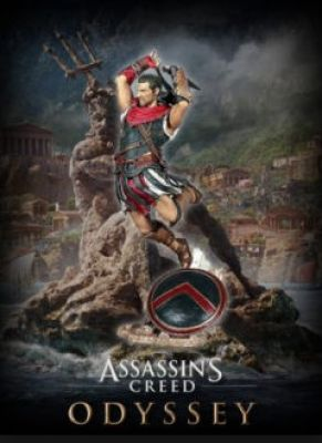 Obal hry Assassin's Creed Odyssey - ALEXIOS 32cm