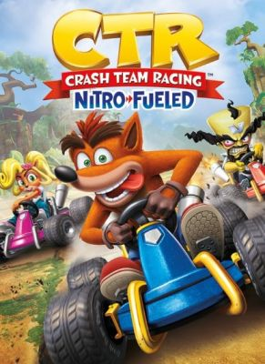 Obal hry Crash Team Racing Nitro-Fueled Races