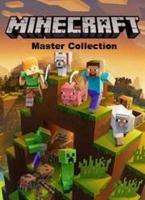 Obal hry Minecraft Master Collection