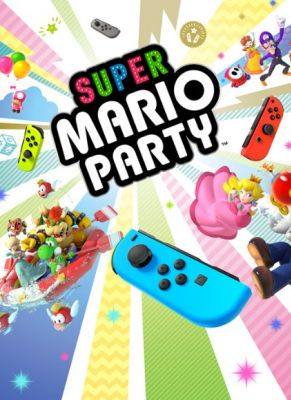 Obal hry Super Mario Party