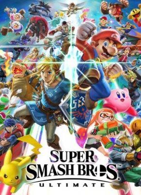 Obal hry Super Smash Bros Ultimate