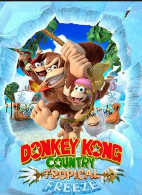 Obal hry Donkey Kong Country Tropical Freeze