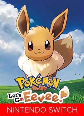Obal hry Pokemon Let`s Go Eevee