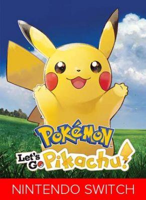 Obal hry Pokemon Let`s Go Pikachu