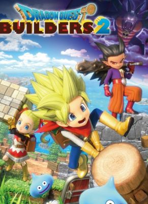 Obal hry Dragon Quest Builders 2