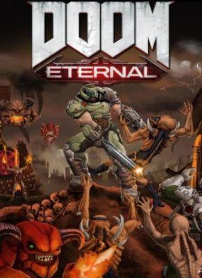 Obal hry Doom Eternal