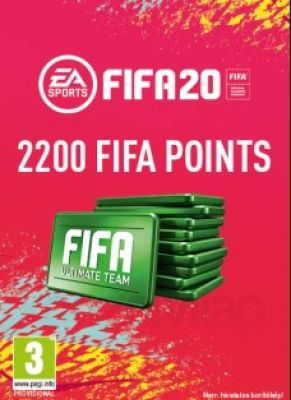 Obal hry FIFA 20 PC 2200 FIFA Points