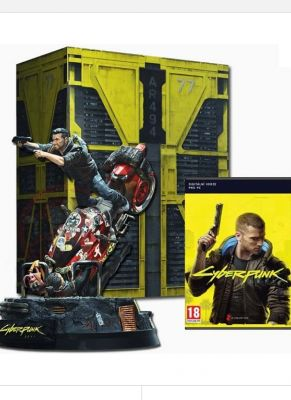 Obal hry Cyberpunk 2077 Collectors Edition