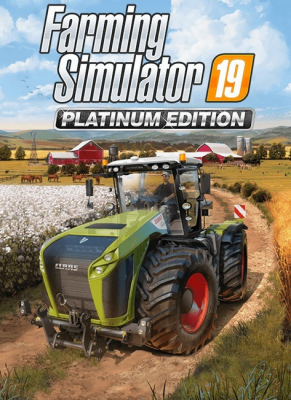 Obal hry  Farming Simulator 19 Platinum Edition