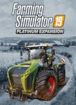 Obal hry  Farming Simulator 19 Platinum Expansion